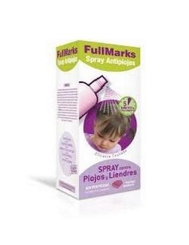 Fullmarks spray antipiojos y liendres 150ml