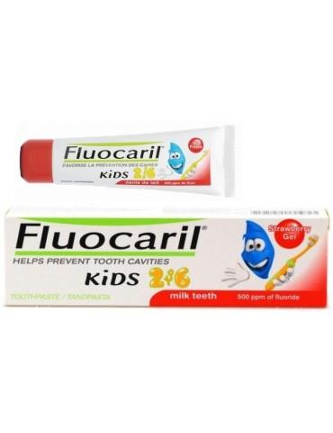 Pasta Dentífrica Fluocaril Kids 2 a 6 años 50 ml