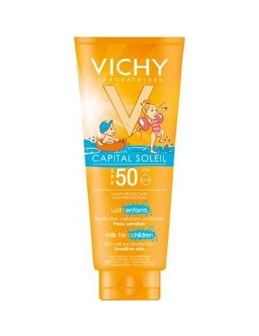 Protector solar Vichy leche pieles sensibles de 0 a 6 años IP50+ 300ml
