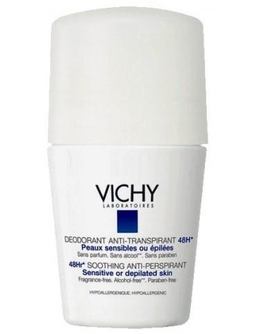 Desodorante Vichy Anti-Traspirante Piel Depilada o Sensible Roll-On 50 ml