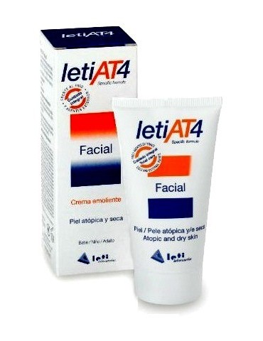 Crema Leti AT4 Emoliente Facial 50 ml